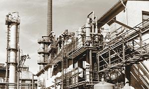 Altes Bild Chemie Gebäude