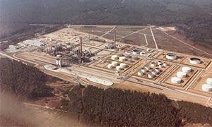 Luftbild OMV
